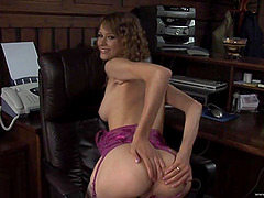 Beata Undine gets her cunt licked and fucked deep from behind