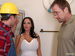 Naughty Construction Worker Bangs A Busty Woman Anal Doggystyle