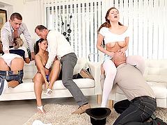 Swinger zoey portland fucks for her husband - 1 part 6
