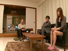 Yuma Asami entertains the lusty desires of older men