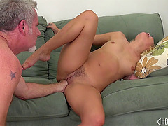 Her pussy is on fire and experienced dick is exactly what she needs!