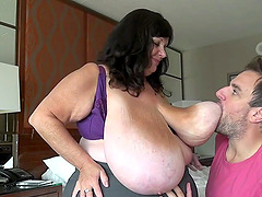 No one's boobs are as massive and meaty as those of Suzie Q!
