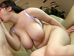 Compelling chubby babe with large boobs shagged like never before