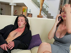 Horniest stepmom needs to do the cock sucking as soon as possible