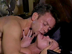 Magnificent fucking with his lustful brunette eye candy