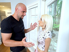 Leggy blonde Hime Marie seduced by a handsome lover for a fuck