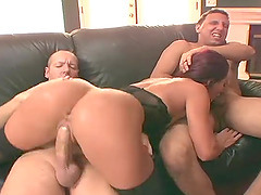 Nice ass Sandra screaming while double penetrated hardcore