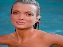 Kimberly Holland is swimming in your pool all naked