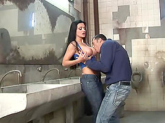 Awesome Hardcore Action with Euro Pornstar Aletta Ocean