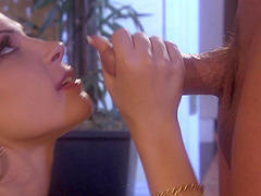 Rebecca Linares eats friend's fat dick like sweetest ice cream