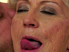 Trivial Passion with a Naughty Old Cock-Sucking Granny