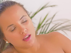 Passionate pussy licking with adorable Olivia Nice and Loren Minardi