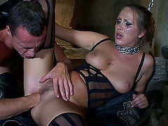 Darkest hours are lightened up by Mandy's pussy