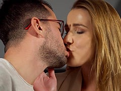 Fucking in doggystyle and missionary with Czech beauty Alexis Crystal