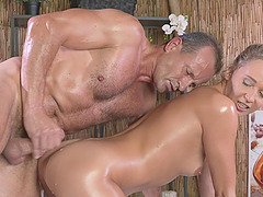 Lola Nona moans with pleasure from passionate fucking with a client