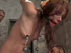 Isis Love and Sarah Blake have lesbian fun in a stunning BDSM vid