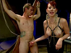Naughty Femdom and Pegging Action by Maitresse Madeline
